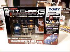 Tomica tomy Bit char-g Subaru Impreza WRX Blue set *RARE* MISB