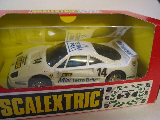 Scalextric 8355 Ferrari F40 Tetra Pak New unrun Coffret de collection