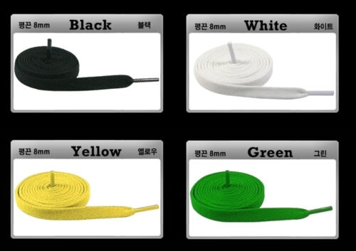 US High Quality Athletic Sport Sneaker Flat Shoelaces String Laces Buy 1 get 1