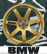 BMW 6x ALLOY WHEEL DECAL STICKERS GRAPHICES CHOICE OF COLOURS FAST DISPATCH