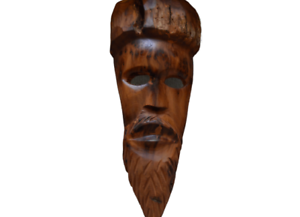 Wooden-Carved-Hand-African-Tribal-Vintage-Wall-Painted-Art-Made-Hanging