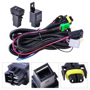 wiring harness sockets switch for h11 fog light lamp ford focus ford trailer plug harness image is loading wiring harness sockets switch for h11 fog light