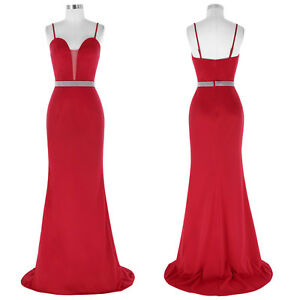 Banquet Long Evening Party Ball Prom Gown Formal Bridesmaids Cocktail Dresses