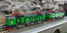 Roco 79457 2-tlg. Set E-Lok Rc4 Green Cargo/SJ Digital Sound HO AC Wechselstrom