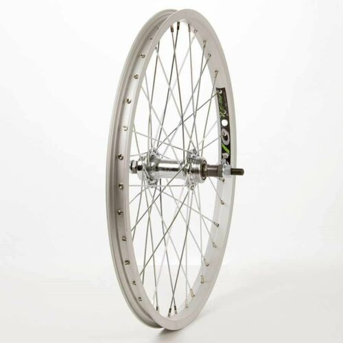 "Wheel Shop 36H Silver Alloy Single Wall Evo E Tour 20// Silver J Rear 20/"" Wheel"