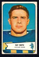 1954 Bowman Football RAY SMITH   Bears  #  119    Very Good