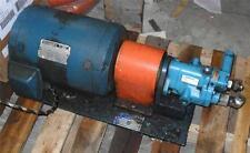 #250 Reliance AC Motor 215T P21G12D-LY 10-HP 230/460V + Vickers PVB5-RSY-21 Pump