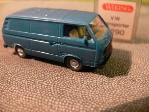 1//87 Wiking VW t3 recuadro azul oscuro 290//5 a