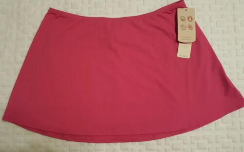 Tommy Bahama Women/'s Pull-On Skirt Cover Up Pearl Solids Bright Pink XL NWT $68