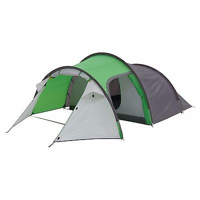 COLEMAN GREEN CORTES 3 MAN TENT 2017 camping festival expedition bright coloured