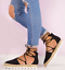 Womens-Ladies-Ankle-Strappy-Flat-Lace-Up-Gladiator-Summer-Sandals-Shoes-Size-Hot thumbnail 1