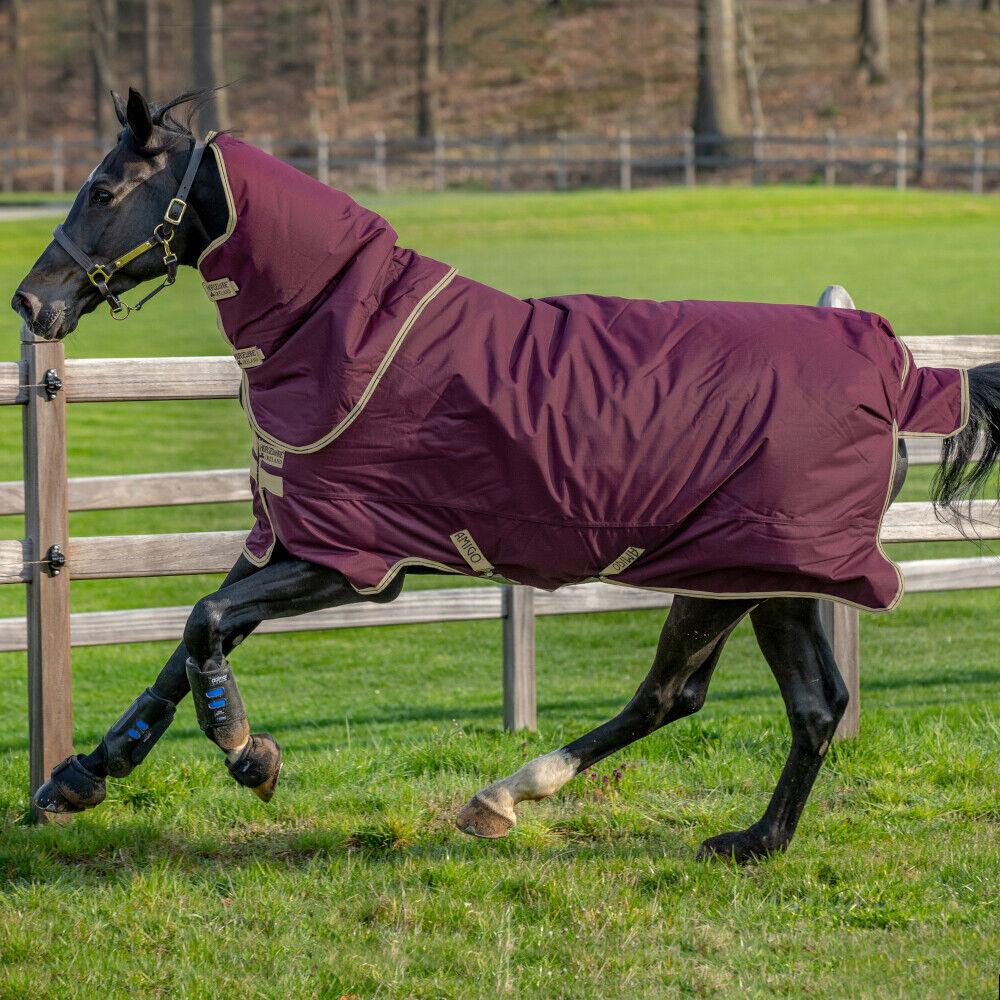 Horseware Amigo Hero Ripstop Plus Lite 0gGabbiaNavy & & & Tan 78e
