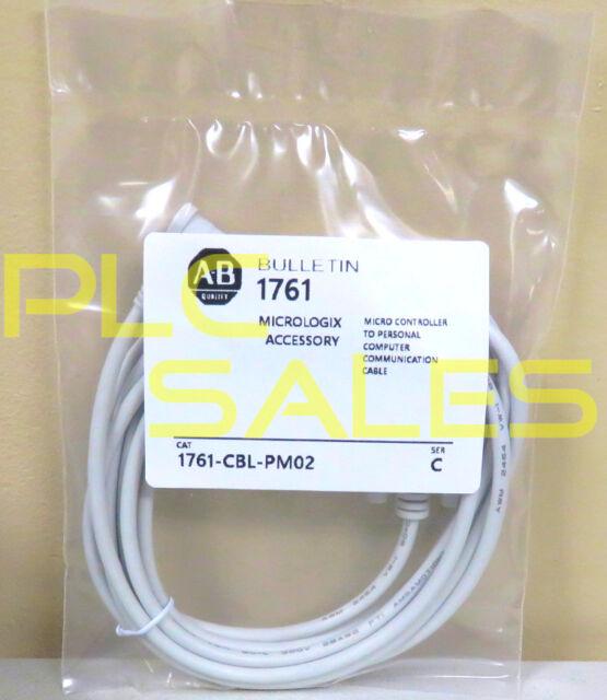 1Pcs New AB MICROLOGIX communication cable 1761-CBL-HM02