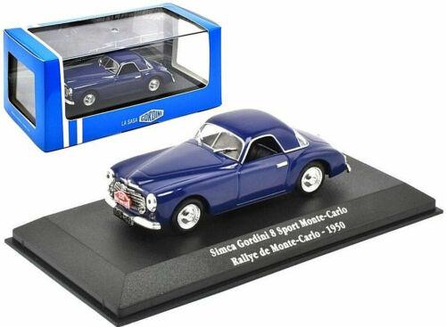 Simca Gordini 8 Sport Rallye de Monte Carlo 1950  1//43 promo