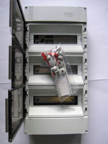 IP65 Verteiler Kleinverteiler Feuchtraumverteiler Kasten Aufputz F-tronic IP55