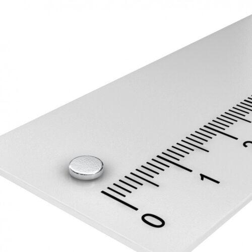 MODELLBAU 20x MINI NEODYM MAGNET SCHEIBE N45 POWER MAGNET 4x1 mm PINNWAND