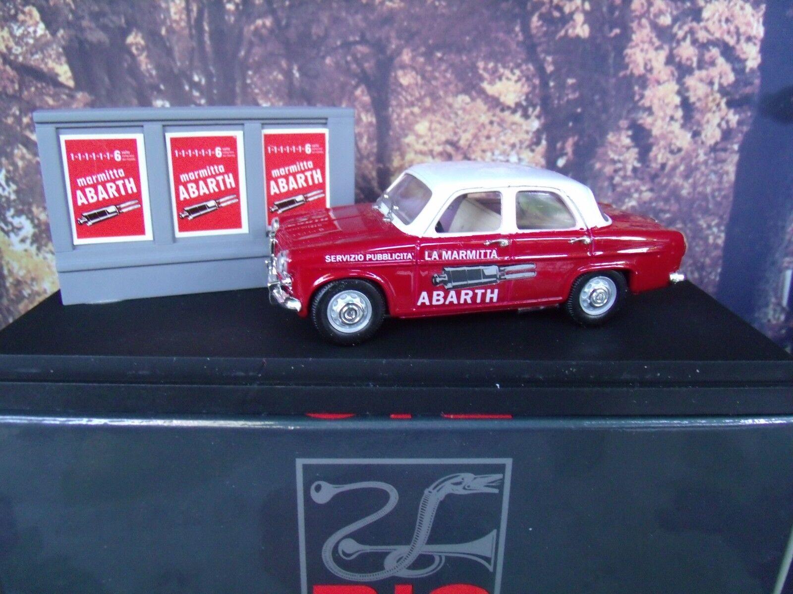 1 43  Rio  () Alfa Romeo giulietta  SERVIZIO MARMITTA ABARTH  SL046