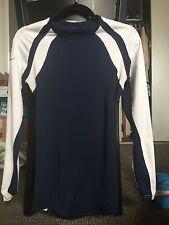 NIKE bule/white women's Dri-Fit longslevee size XS