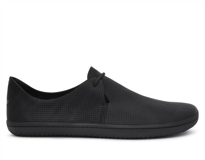 Vivobarefoot Men's Rif - Leather Black/Hide - 40