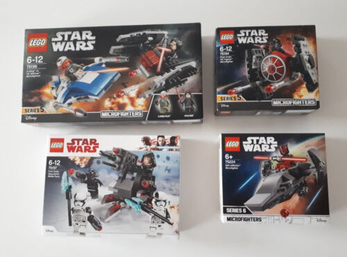 Boîtes neuves et scellées Au Choix LEGO Sets star wars Choose