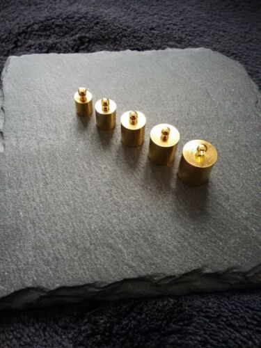 Gold Plated End Tips Caps for 5mm 6mm 7mm 8mm or 9mm Cords Kumihimo UK Seller