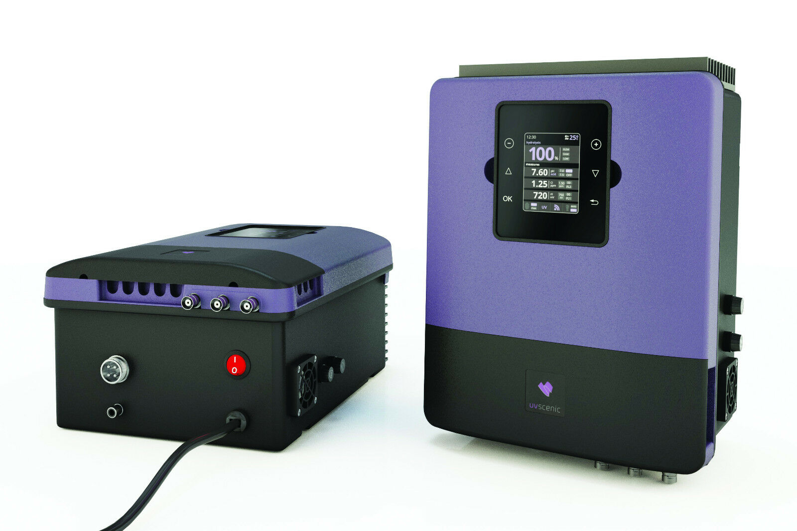 UV- und Salzelektrolyseanlage Infinity Senic, Salzwasserelektrolyseanlage