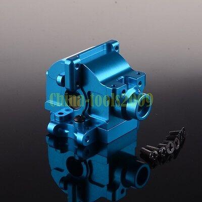 Aluminium Gear Box(06045/06046) 122275 BLUE For RC 1/10 Car HSP Redcat Himoto