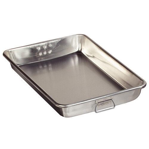 Vollrath Roast & Bake Pan Heavy Ga. Aluminium. 18  x 26  X 3-1 2  de profondeur. 21 QT