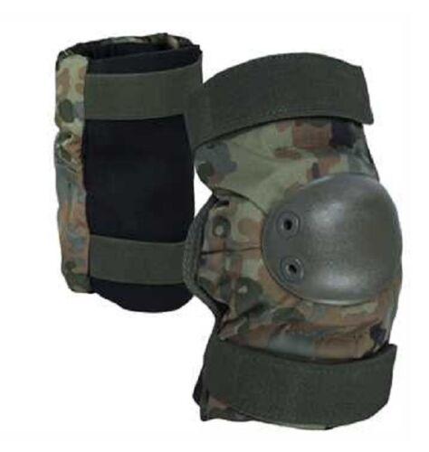 Tactical Knieschoner Knieschützer Military Army Knee pads Bundeswehr Flecktarn