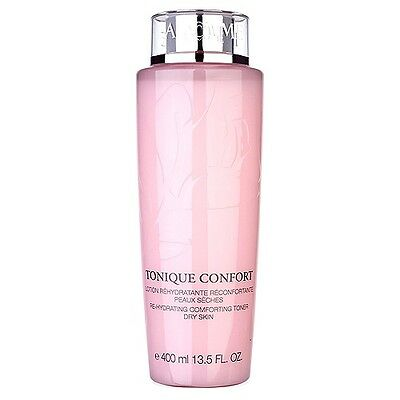 LANCOME Tonique Confort Re-Hydrating Comforting Toner Dry Skin 400ml Hydro