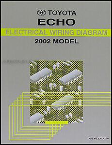 Sensational 2002 Toyota Echo Electrical Wiring Diagram Manual Ebay Wiring 101 Photwellnesstrialsorg