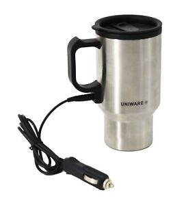 Uniware-Stainless-Steel-Car-Coffee-Mug-With-Charger-16-oz