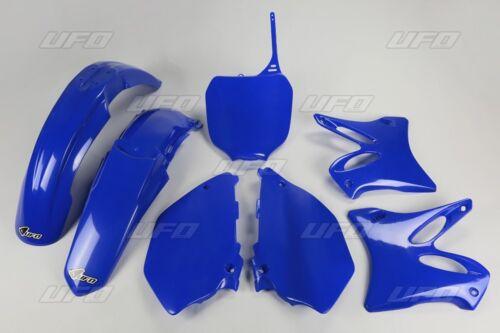UFO Yamaha Motocross Front Fender Mud Guards YZ 125 250 2000-2005 Blue