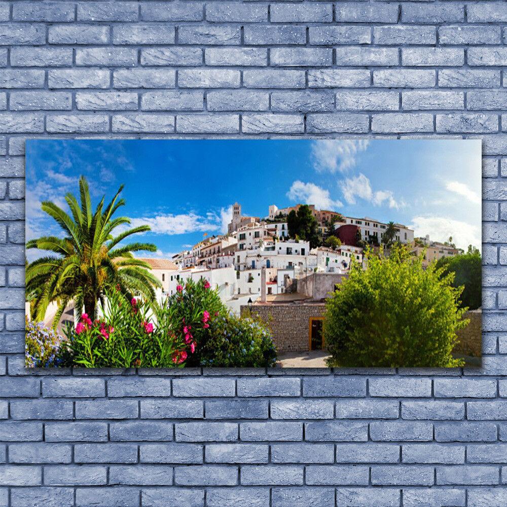 Leinwand-Bilder Wandbild Leinwandbild 140x70 Stadt Landschaft
