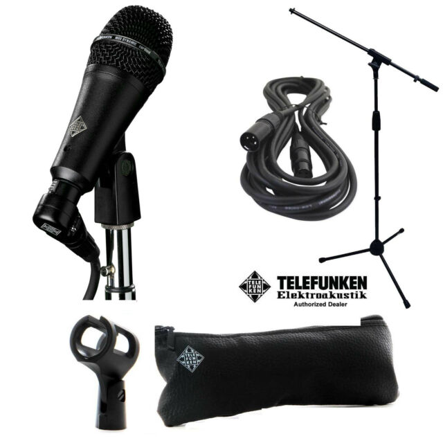 TELEFUNKEN M80-sh Dynamic Microphone Black