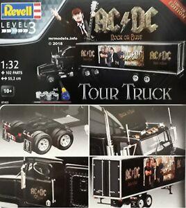 Revell 1/32 Tour Truck Ac / dc Nouveau kit de modèles en plastique 07453 1 32 Ac Dc