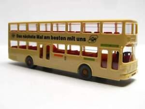 zum Nutzen aller ! Wiking 1:87 MAN SD 200 Berlin Doppeldeckerbus OVP 730 BVG ..