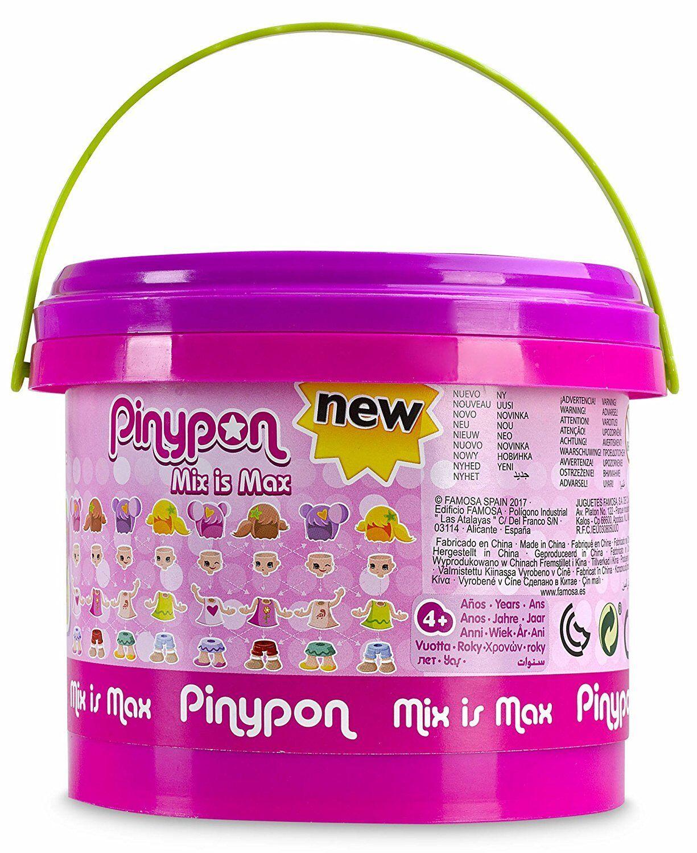 Pinypon Würfel Mix Is MAX mit 5 Figuren berühmte 700013810 Teile und Zubehör 50