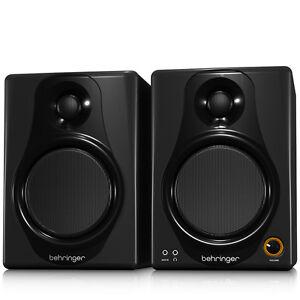 BEHRINGER-MEDIA-40USB-Active-40W-Studio-Monitor-Speaker-USB-Full-Warranty