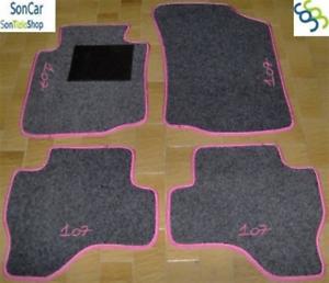 PEUGEOT 407 TAPPETI tappetini AUTO 4 decori 4 block