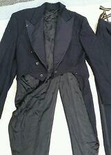vintage tuxedo tux with tails navy blue John Eichhorn