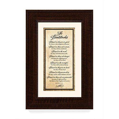NEW James Lawrence The Beatitudes Traditions Framed Art 3519