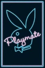 Poster Coniglio Playboy Neon Sexy Playmate