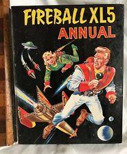 VINTAGE 1966 FIREBALL XL5 GERRY ANDERSON TV SHOW COMIC BOOK ANNUAL VGC!!!