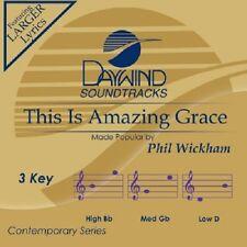 Phil Wickham - This Is Amazing Grace - Accompaniment CD New