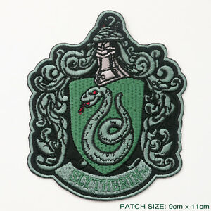 HARRY-POTTER-034-SLYTHERIN-034-EXTRA-LARGE-Embroidered-Robe-Patch