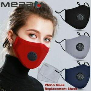 New Cotton Mask Activated Carbon Filter Respirator Mouth-muffle Anti Haze