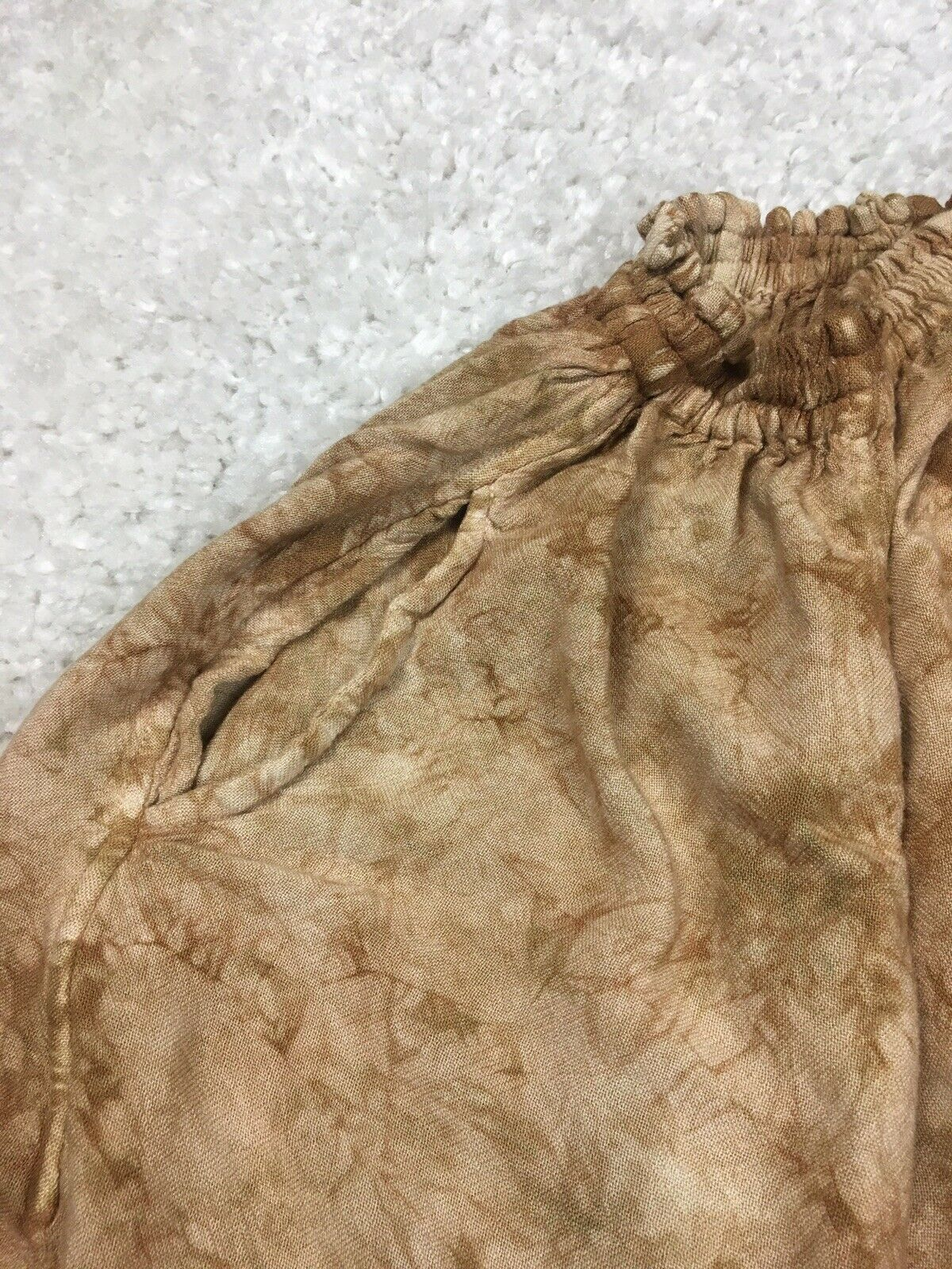 *READ One Size XS S M L Laise Adzer Brown Tie Dye… - image 4