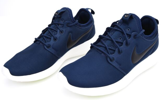 buy popular 100e8 fa804 Mens Nike Roshe Two Textile Blue Branded Footwear Shoes Trainers Casual 8 UK
