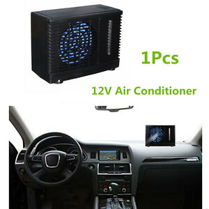 12v portable home car cooler cooling fan water ice evaporative air conditioner 4814554750580 ebay. Black Bedroom Furniture Sets. Home Design Ideas